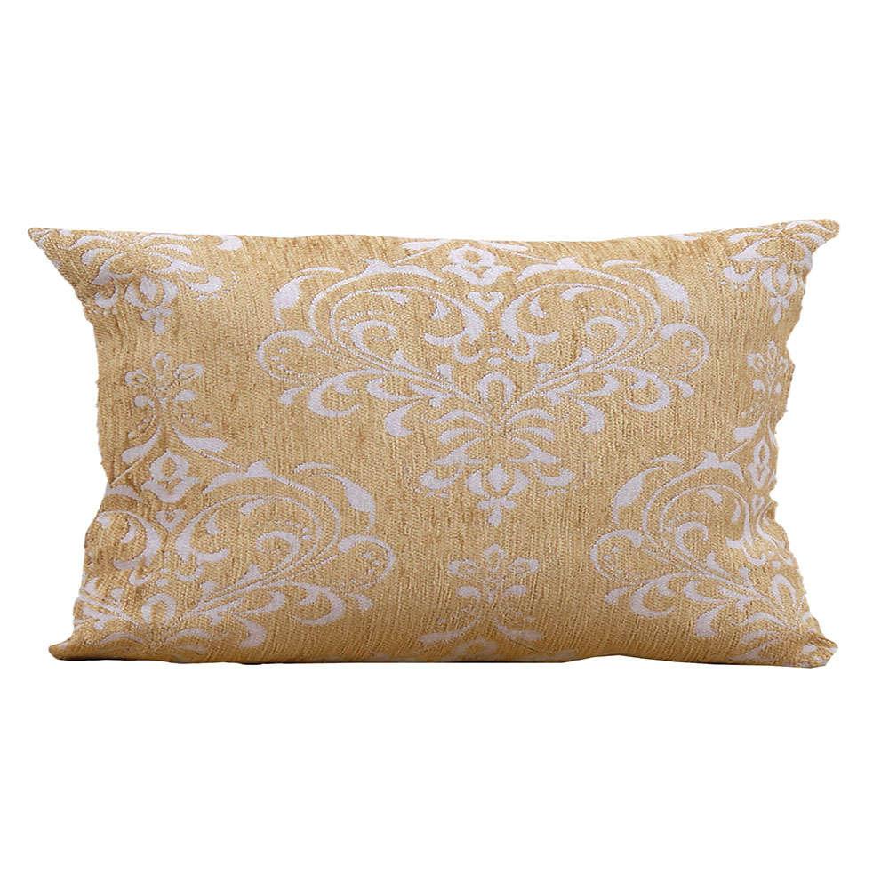 Μαξιλάρι Διακοσμητικό (Με Γέμιση) Des. 1437 Gold Anna Riska 30Χ50 100% Chenille