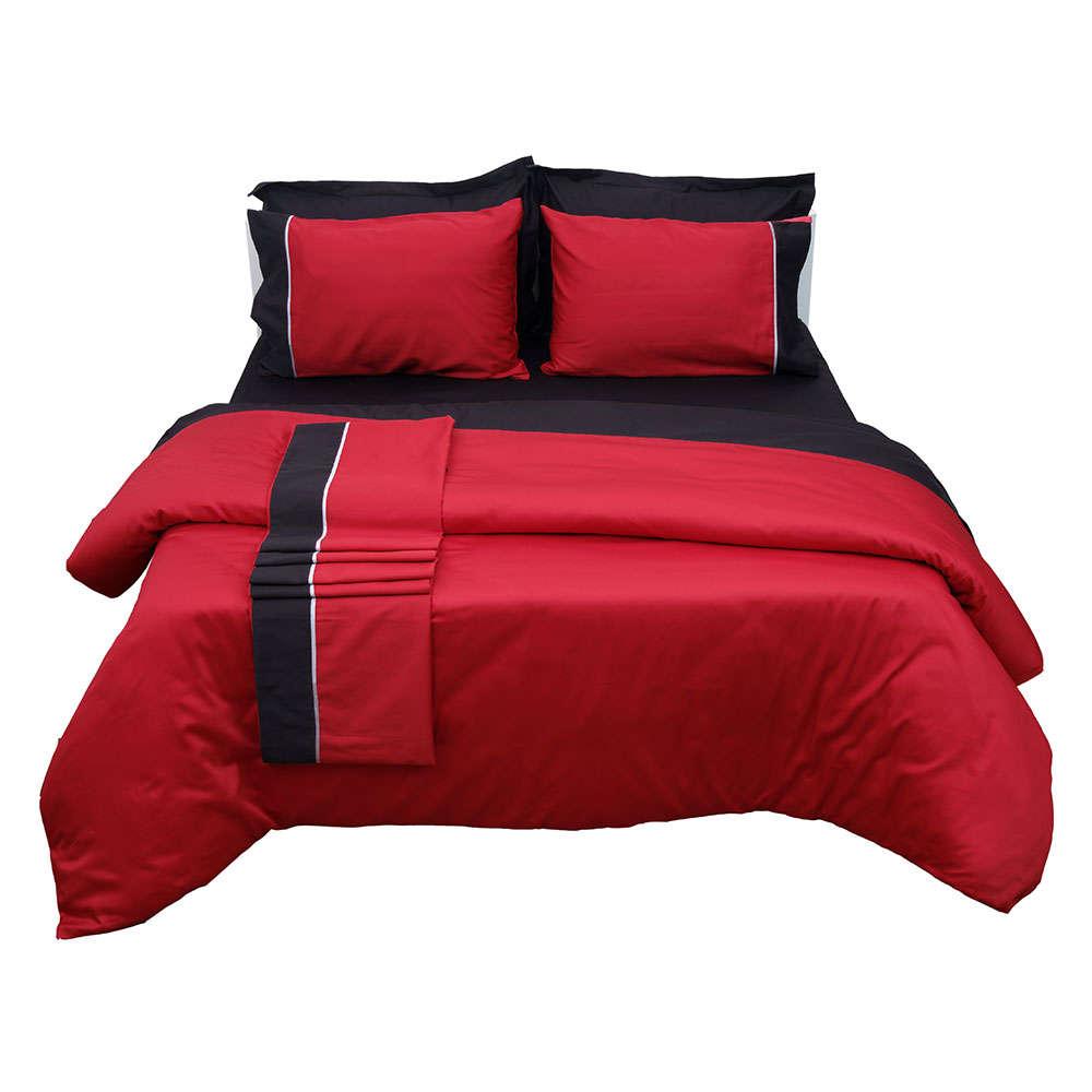 Πάπλωμα Διπλής Όψεως Luxury Bicolour 2 Red/Black Anna Riska Υπέρδιπλo 220x240cm