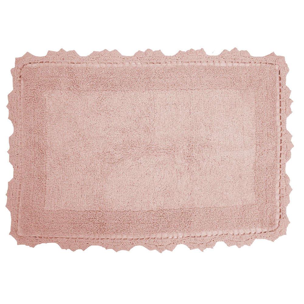 Πατάκι Μπάνιου Des. Lace Blush Pink Anna Riska Medium 50x80cm