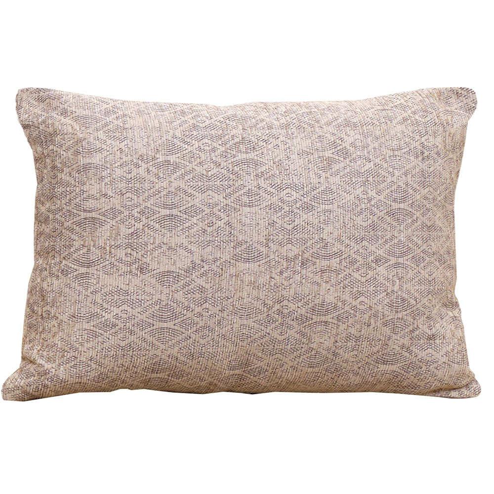 Μαξιλάρι Διακοσμητικό (Με Γέμιση) Σχ. 2203 Beige Viopros 30Χ50 100% Chenille