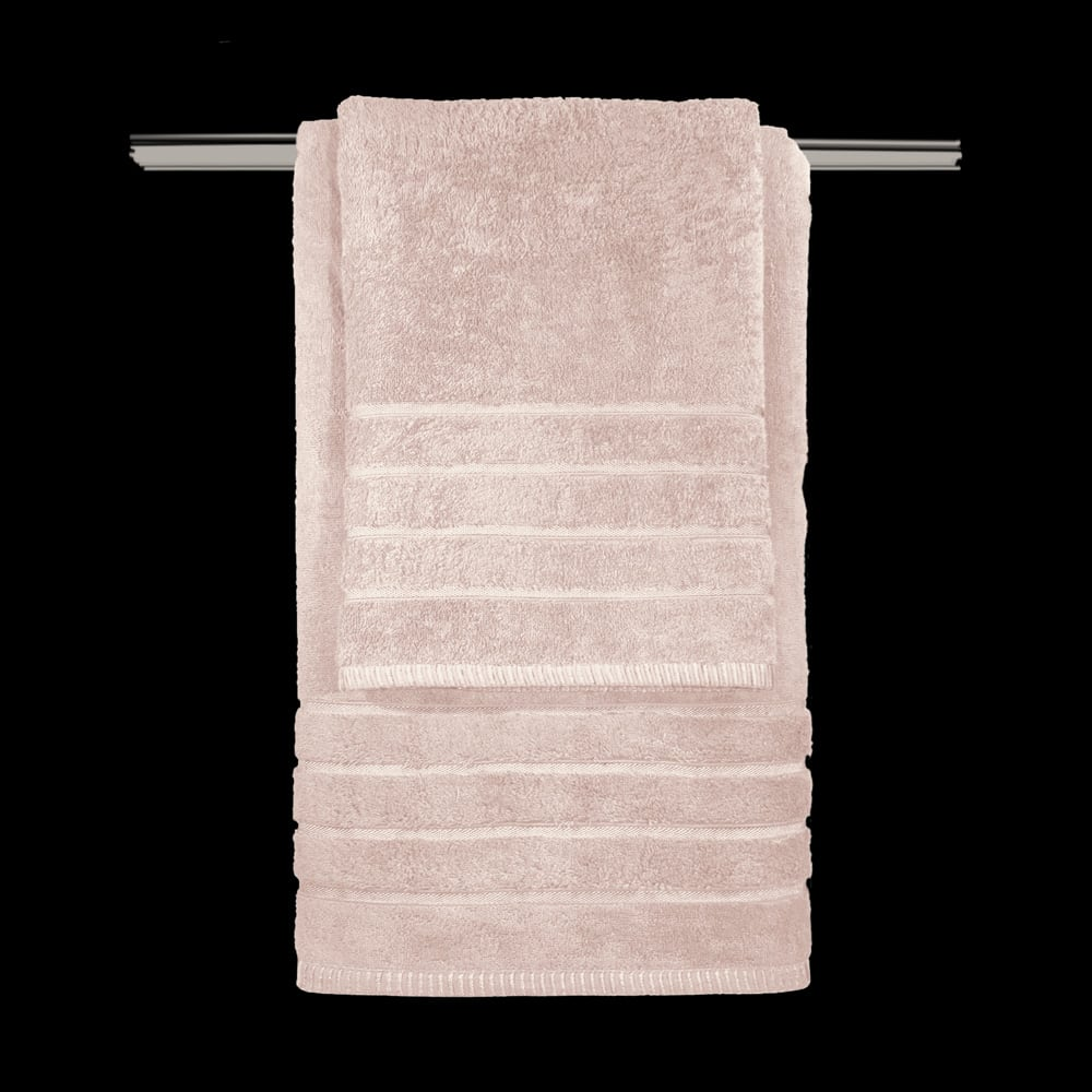 Πετσέτα Σετ 3τμχ Mezzo Old Pink Guy Laroche Σετ Πετσέτες