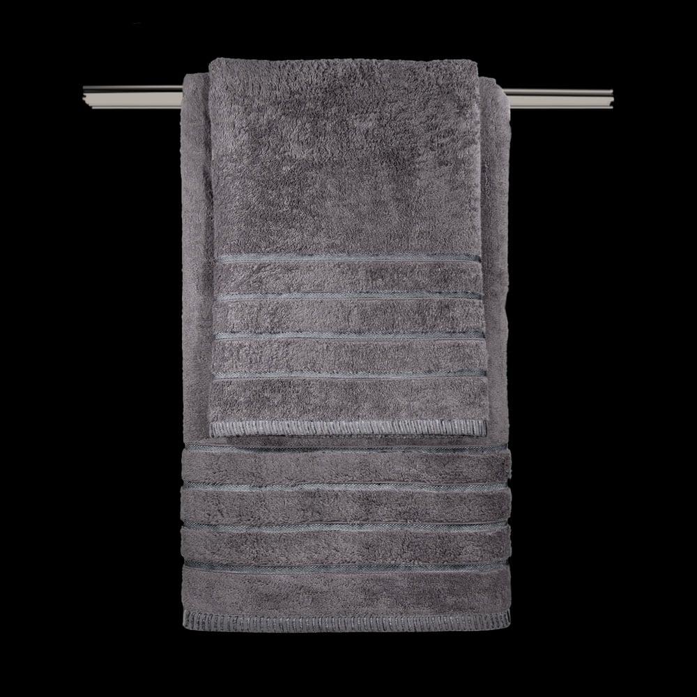 Πετσέτα Σετ 3τμχ Mezzo Anthracite Guy Laroche Σετ Πετσέτες