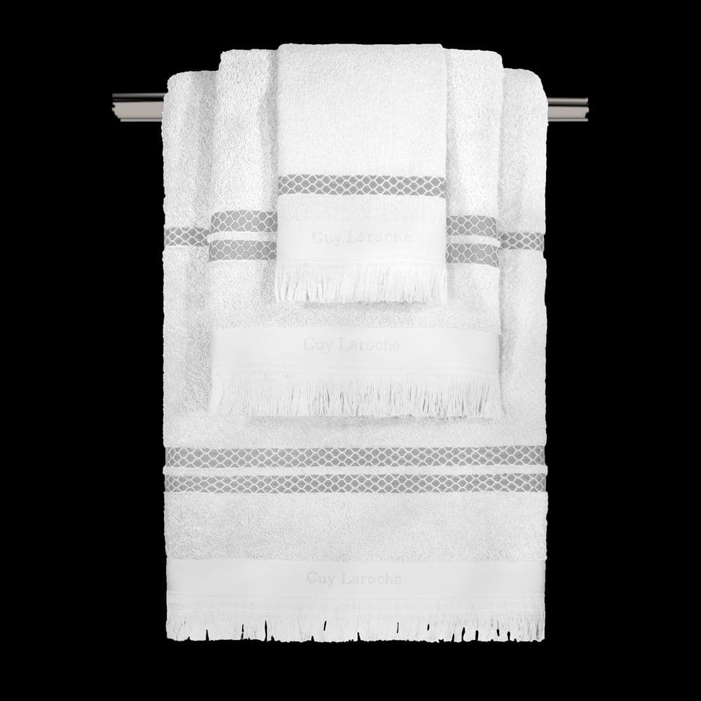 Πετσέτα Σετ 3τμχ Parma White Guy Laroche Σετ Πετσέτες