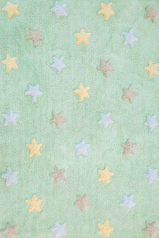Χαλί Παιδικό Stars Soft Mint-Multi Lorena Canals 140X200