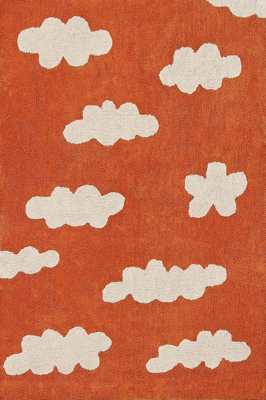 Χαλί Παιδικό Συννεφάκια Clouds Terracota Lorena Canals 140X200
