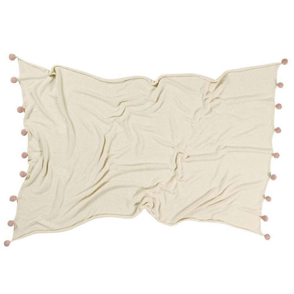 Κουβέρτα Καναπέ Bubbly LΟR-ΒLC-ΝΑΤ-ΝUDΕ Natural-Nude Lorena Canals 150X180