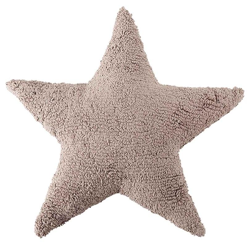 Μαξιλάρι Παιδικό Διακοσμητικό (Με Γέμιση) Αστέρι LΟR-SC-SΤ-LΙ Καφέ Lorena Canals 50X50