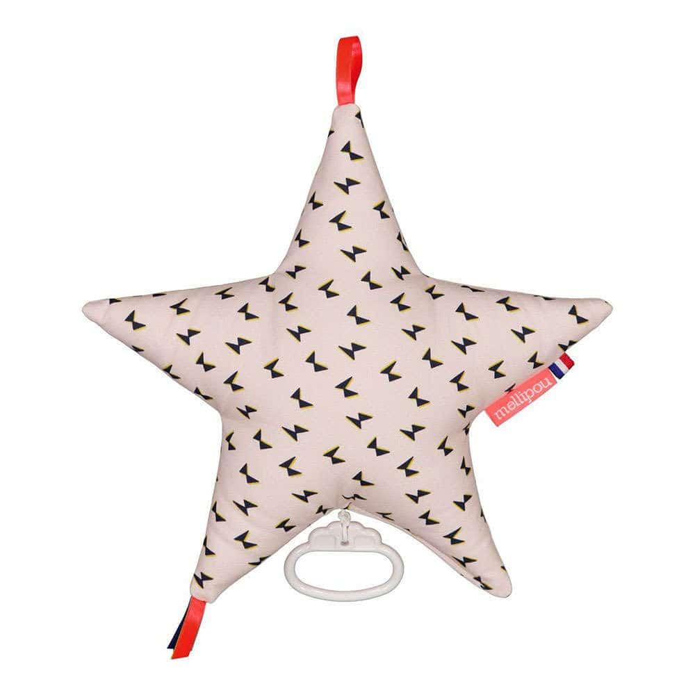 Μαξιλάρι Παιδικό Διακοσμητικό Μουσικό Αστέρι Jim ΜΕL454059 Με Μελωδία Amélie Poulain Mellipou 30X30