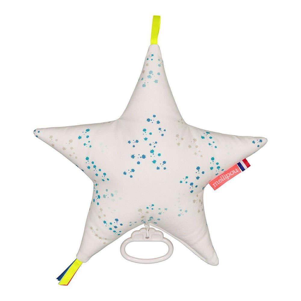 Μαξιλάρι Παιδικό Διακοσμητικό Μουσικό Αστέρι Kurt ΜΕL454011 Με Μελωδία Light My Fire Mellipou 30X30