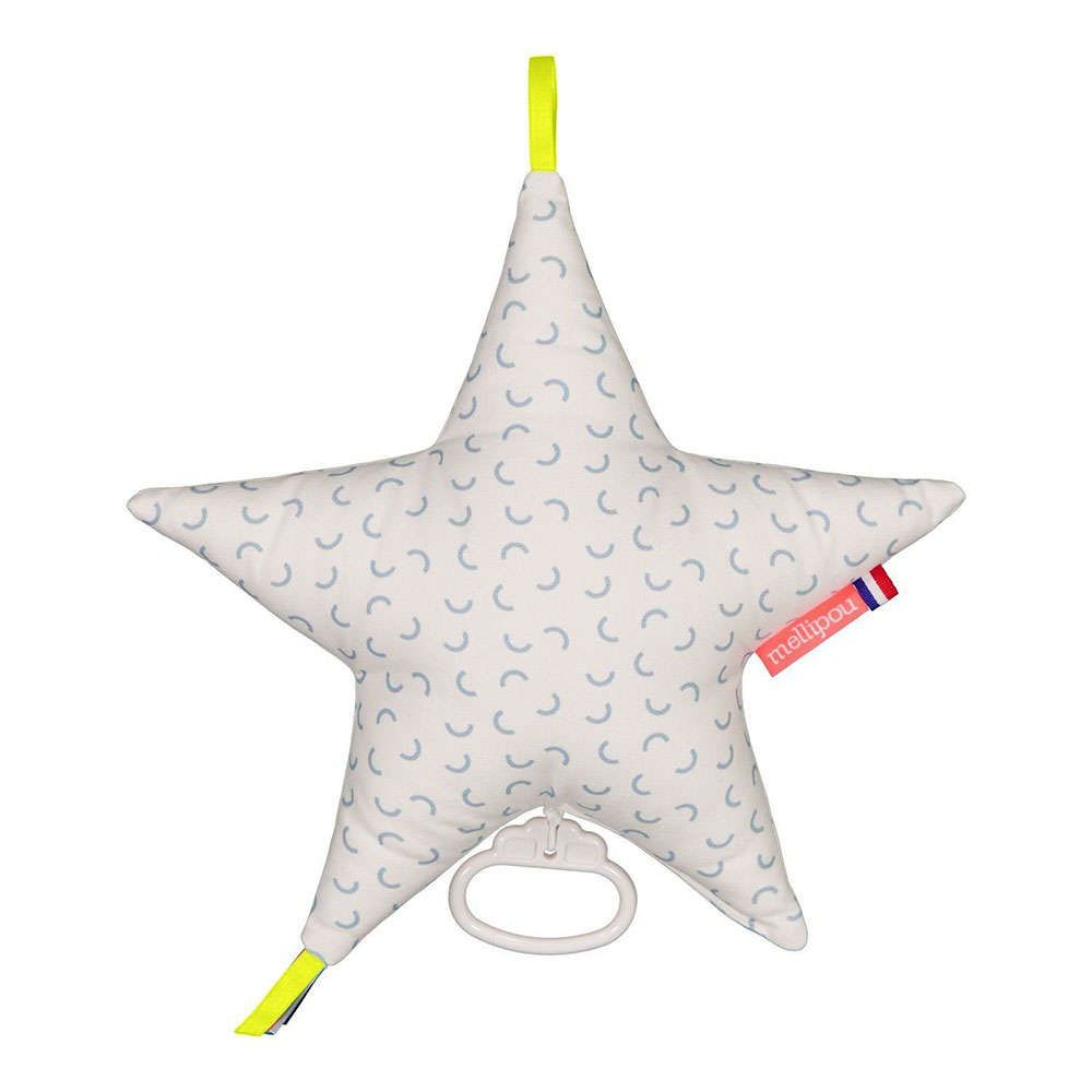 Μαξιλάρι Παιδικό Διακοσμητικό Μουσικό Αστέρι Taylor ΜΕL453991 Με Μελωδία Amélie Poulain Mellipou 30X30