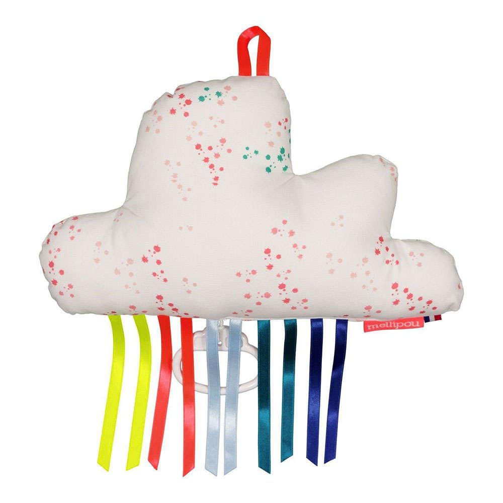 Μαξιλάρι Παιδικό Διακοσμητικό Μουσικό Σύννεφο Alanis ΜΕL454127 Με Μελωδία Amélie Poulain Mellipou 20Χ50