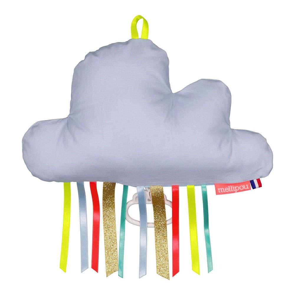Μαξιλάρι Παιδικό Διακοσμητικό Μουσικό Σύννεφο Billy ΜΕL453939 Με Φως & Μελωδία Amélie Poulain Mellip 20Χ50