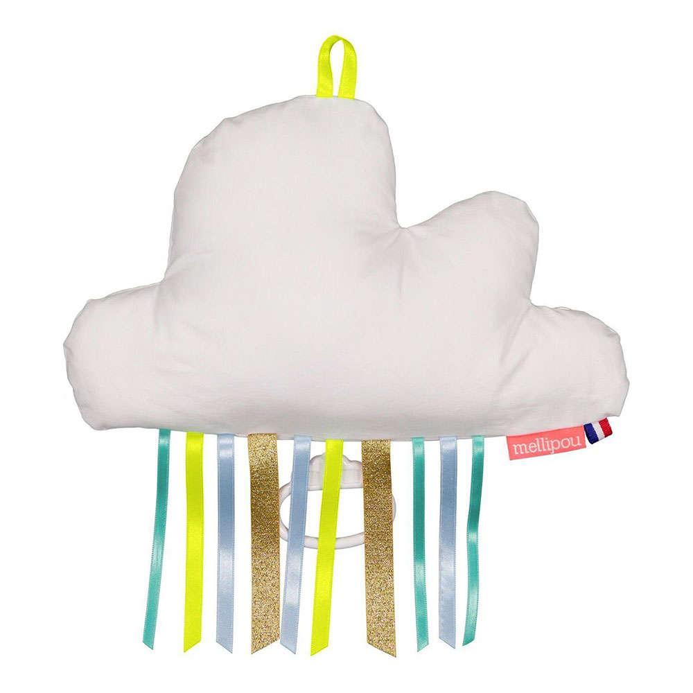 Μαξιλάρι Παιδικό Διακοσμητικό Μουσικό Σύννεφο Bradley ΜΕL453915 Με Φως & Μελωδία I Just Called To Sa 20Χ50