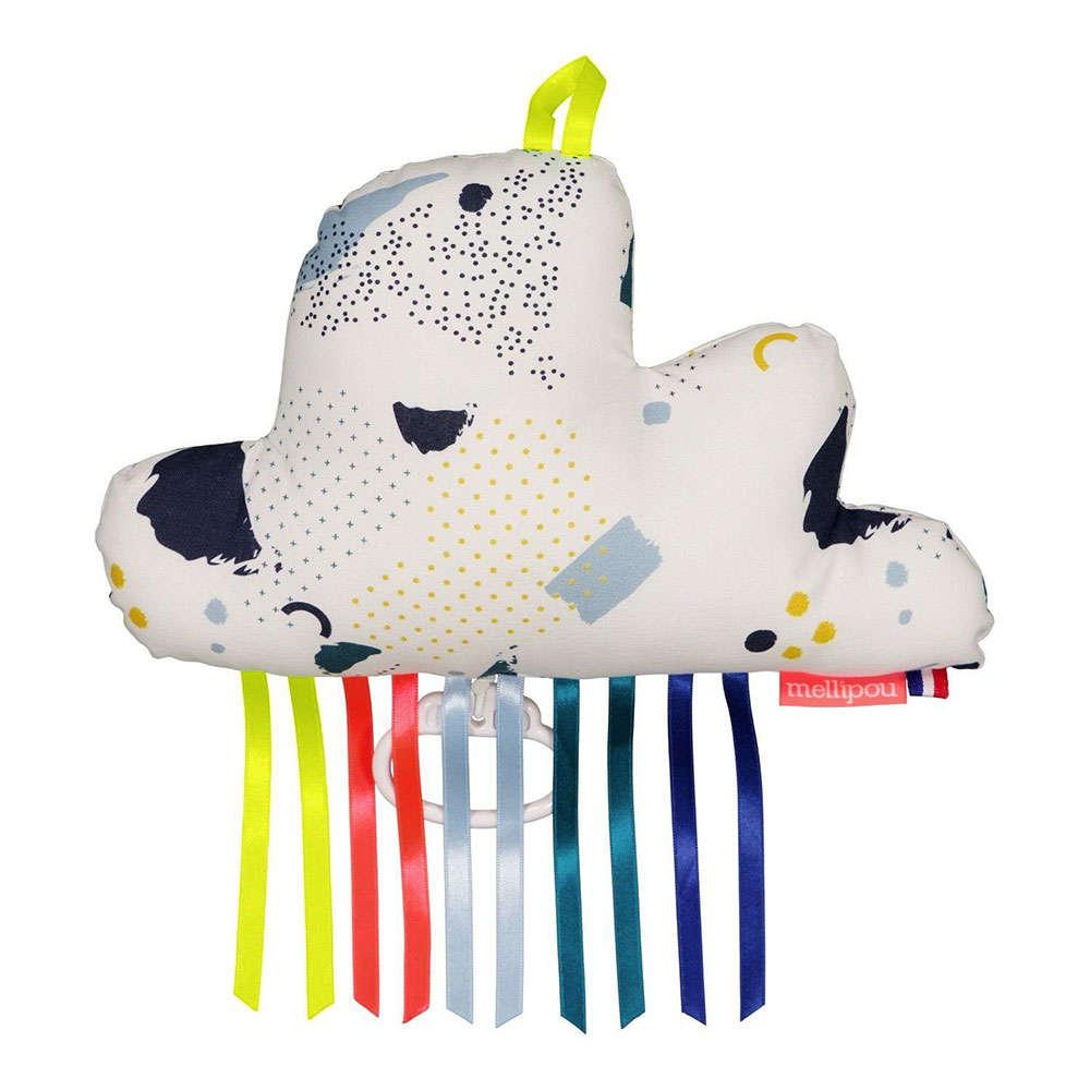 Μαξιλάρι Παιδικό Διακοσμητικό Μουσικό Σύννεφο Freddy ΜΕL454066 Με Μελωδία Light My Fire Mellipou 20Χ50