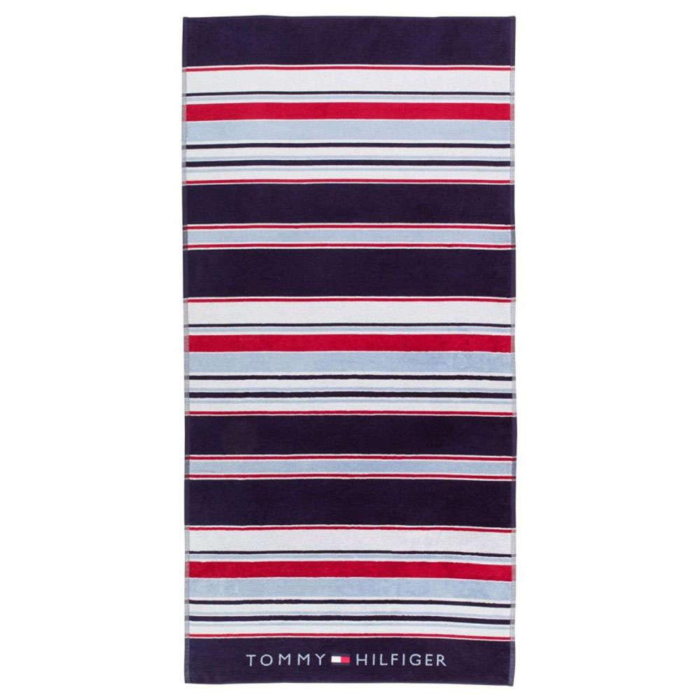 Πετσέτα Θαλάσσης Iconic Navy Tommy Hilfiger Θαλάσσης 90x180cm