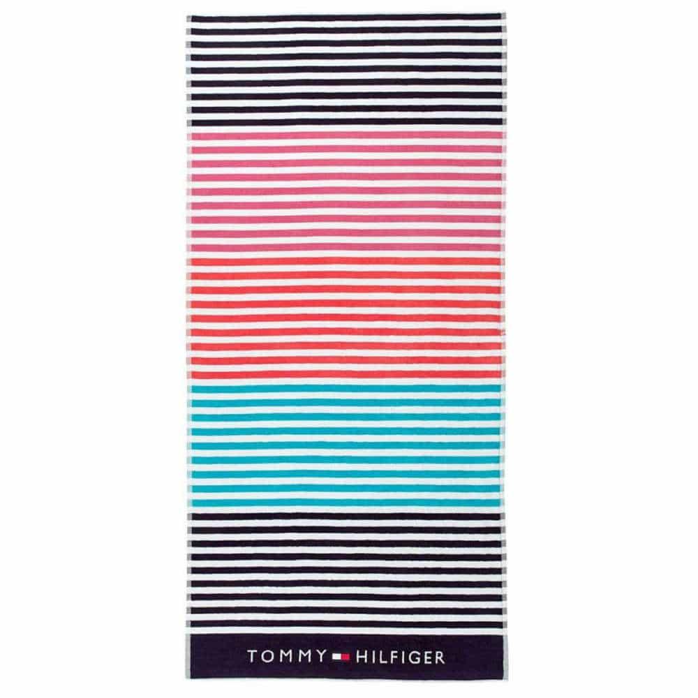 Πετσέτα Θαλάσσης Sunshade Multi Tommy Hilfiger Θαλάσσης 90x180cm