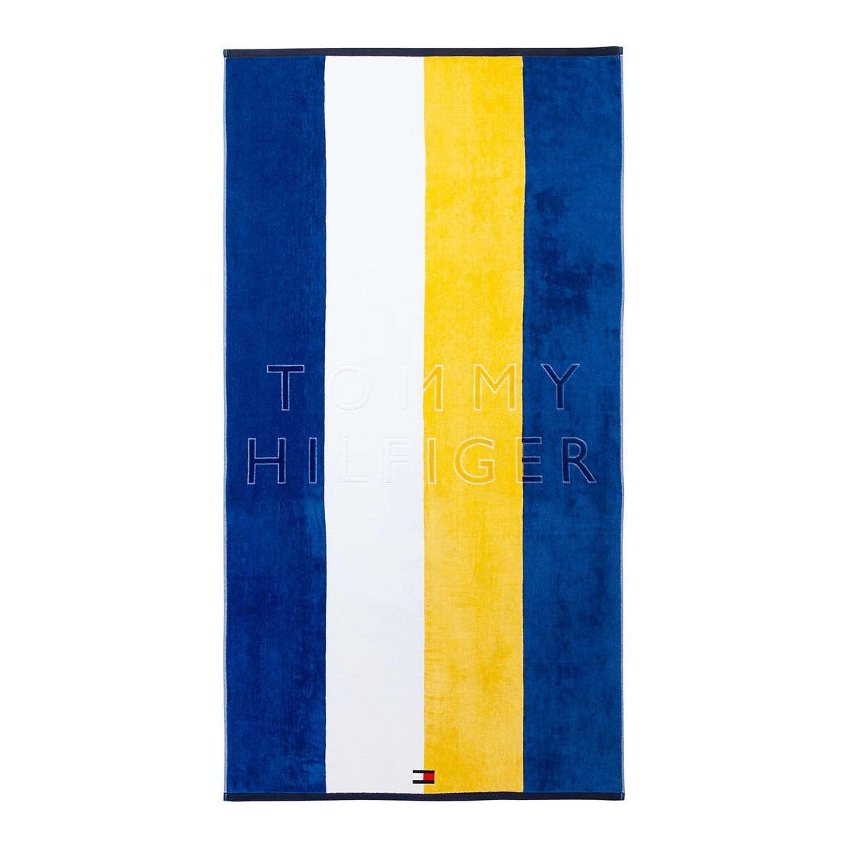 Πετσέτα Θαλάσσης Nautical Yellow Tommy Hilfiger Θαλάσσης 90x170cm