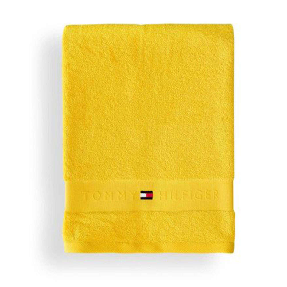 Πετσέτα Legend Yellow Tommy Hilfiger Σώματος 100x150cm