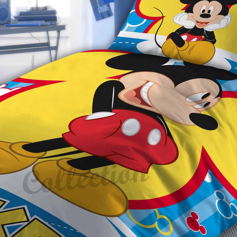 Πάπλωμα Παιδικό Mickey 560 Ψηφιακό Blue DimCol 160x240cm