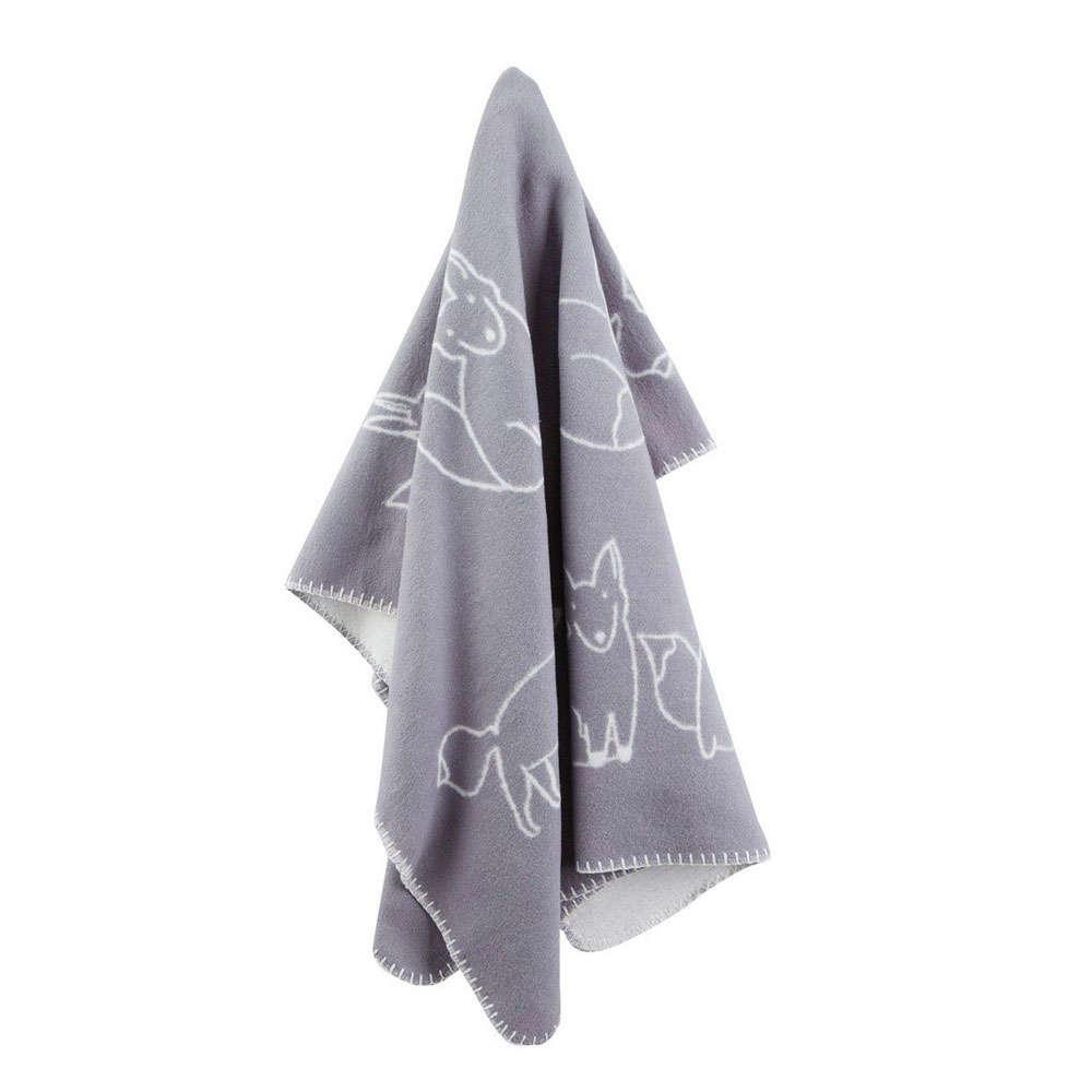 Κουβέρτα Βρεφική ΚC112877 Edvin Grey Kid's Concept Κούνιας