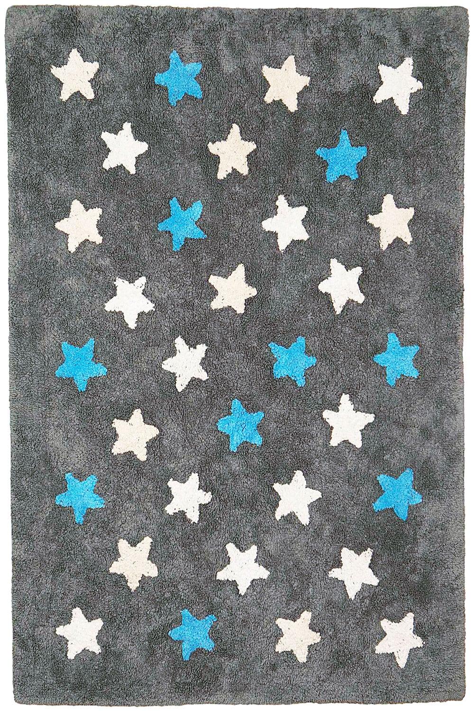 Χαλί Παιδικό LLG02 BR75145 Stars Grey Baby Adventure 140X200