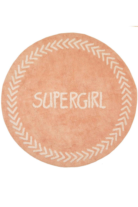 Χαλί Παιδικό LLR01 BR75142 Supergirl Pink Baby Adventure 140X200