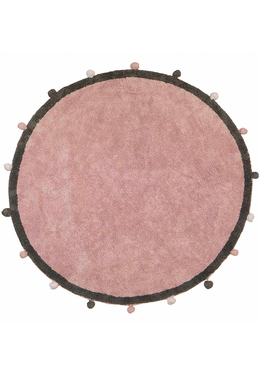 Χαλί Παιδικό LLR02 BR75143 Pink-Grey Baby Adventure 140X200