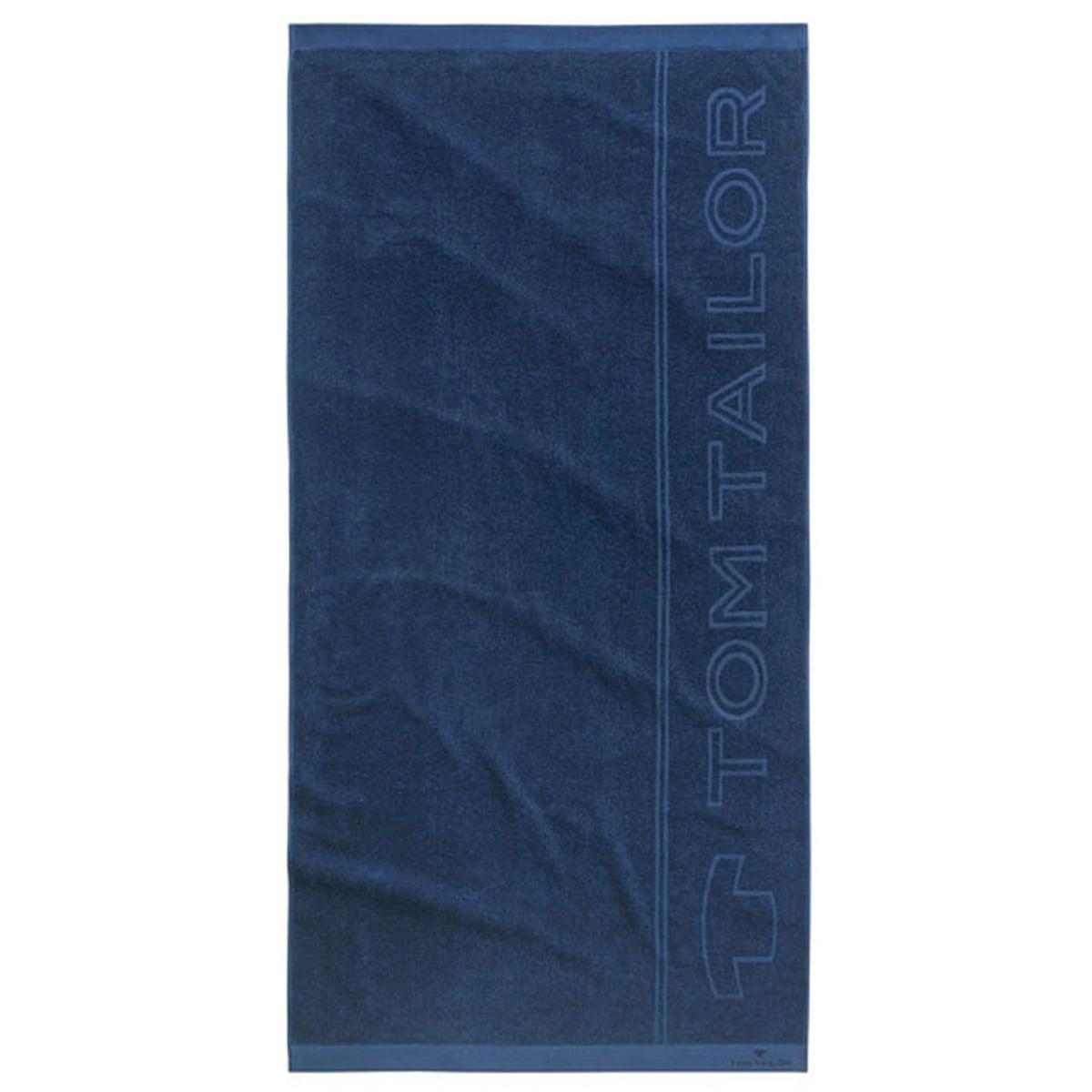 Πετσέτα Θαλάσσης 100 119 Multi-Functional 908 Navy Tom Tailor Θαλάσσης 90x180cm