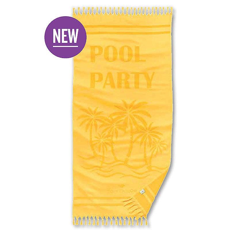 Πετσέτα Θαλάσσης 100 274 Hamam 923 Yellow Tom Tailor Θαλάσσης 90x180cm