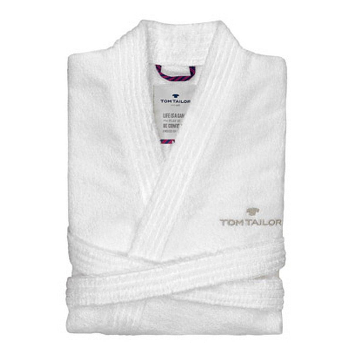 Μπουρνούζι 100 300 900 White Tom Tailor Small S
