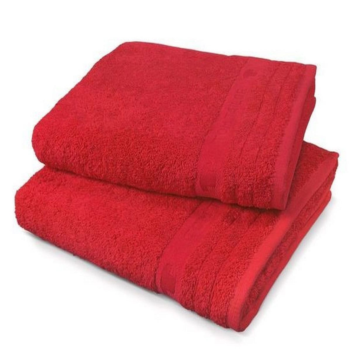 Πετσέτα 100 111 920 Red Tom Tailor Σώματος 70x140cm