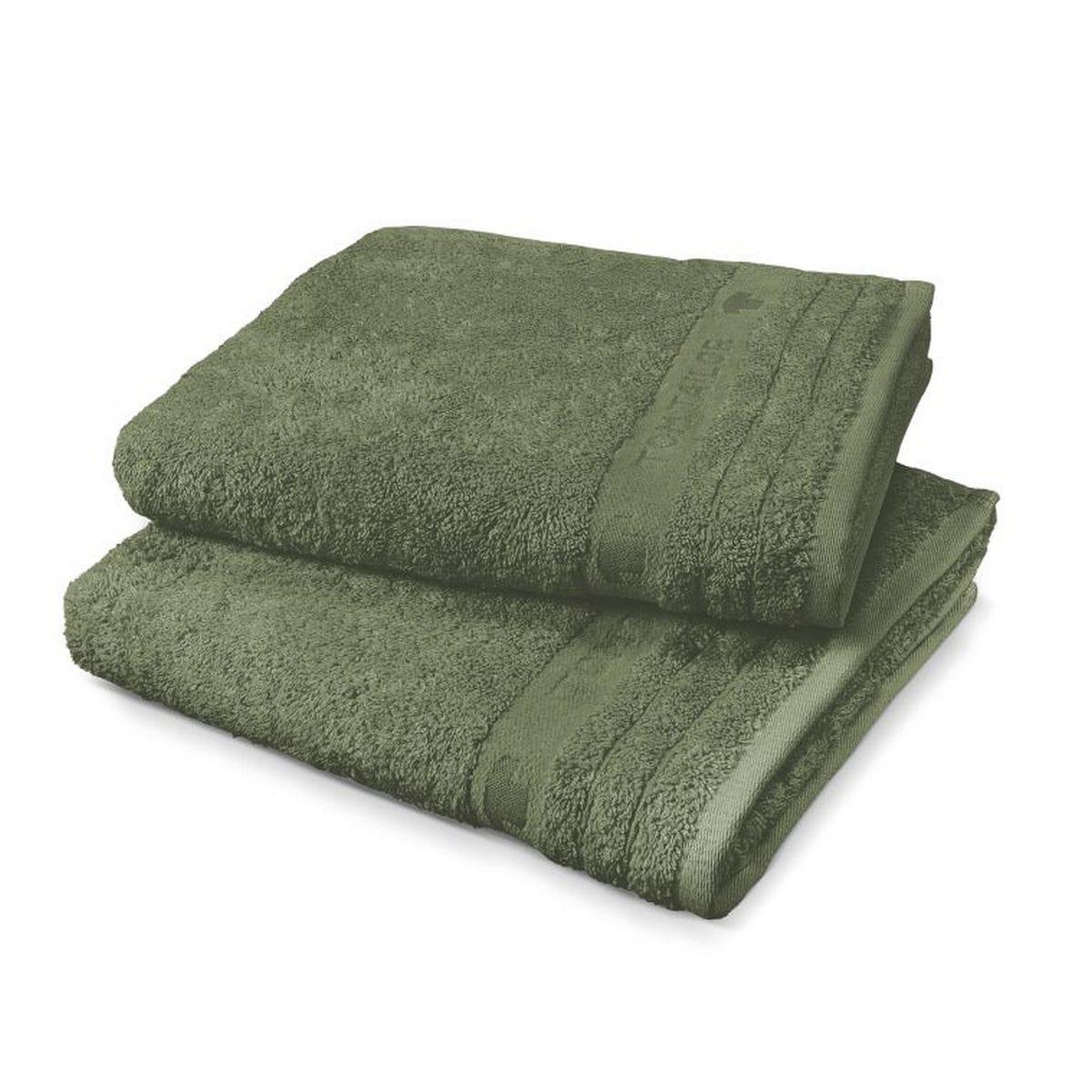 Πετσέτα 100 111 942 Olive Tom Tailor Προσώπου 50x100cm