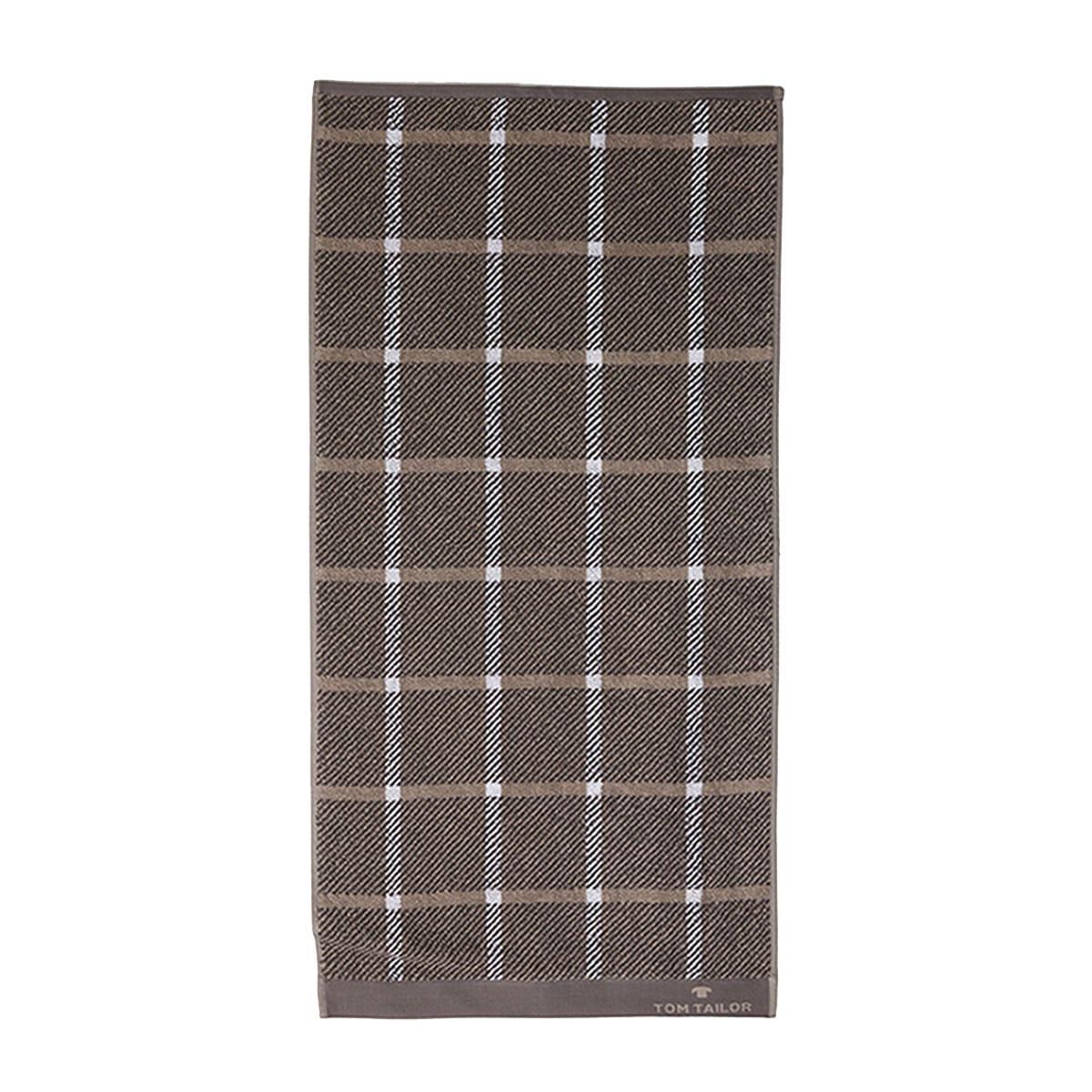 Πετσέτα 100 272 902 Dark Grey Tom Tailor Σώματος 70x140cm
