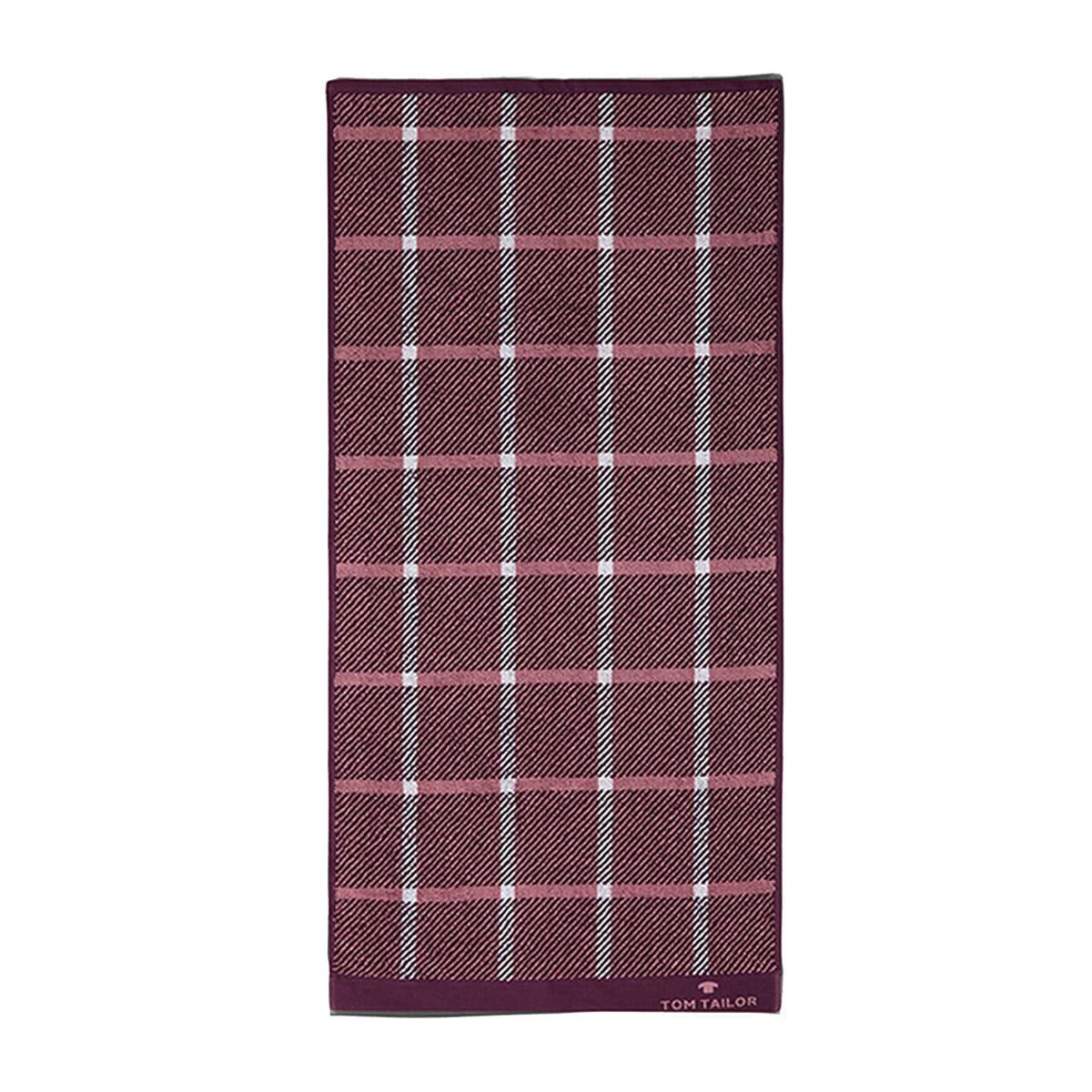 Πετσέτα 100 272 935 Purple Tom Tailor Προσώπου 50x100cm