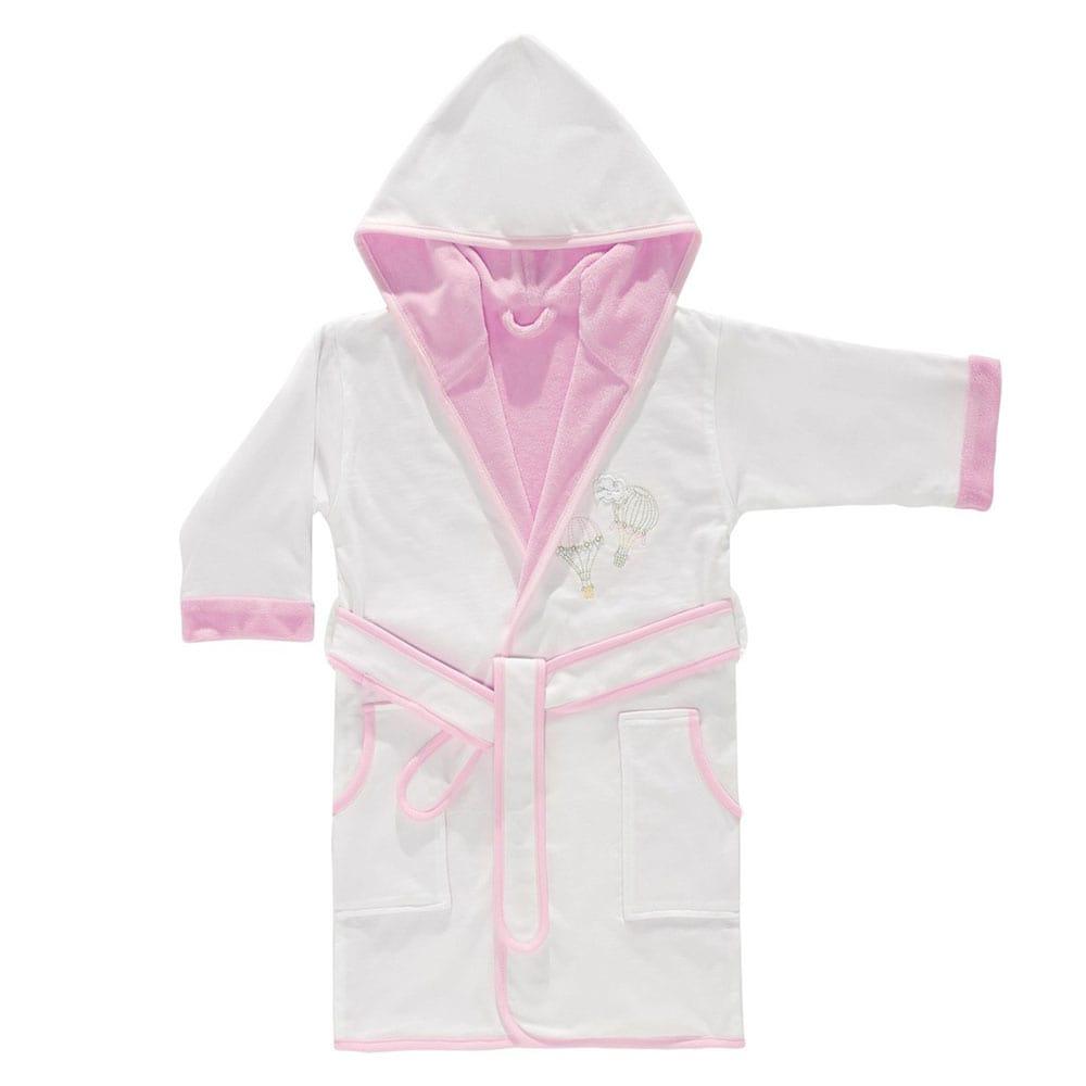 Μπουρνούζι Βρεφικό Διπλής Όψης 3059 Balloon Pink Sydney Baby 0-2 ετών No 2