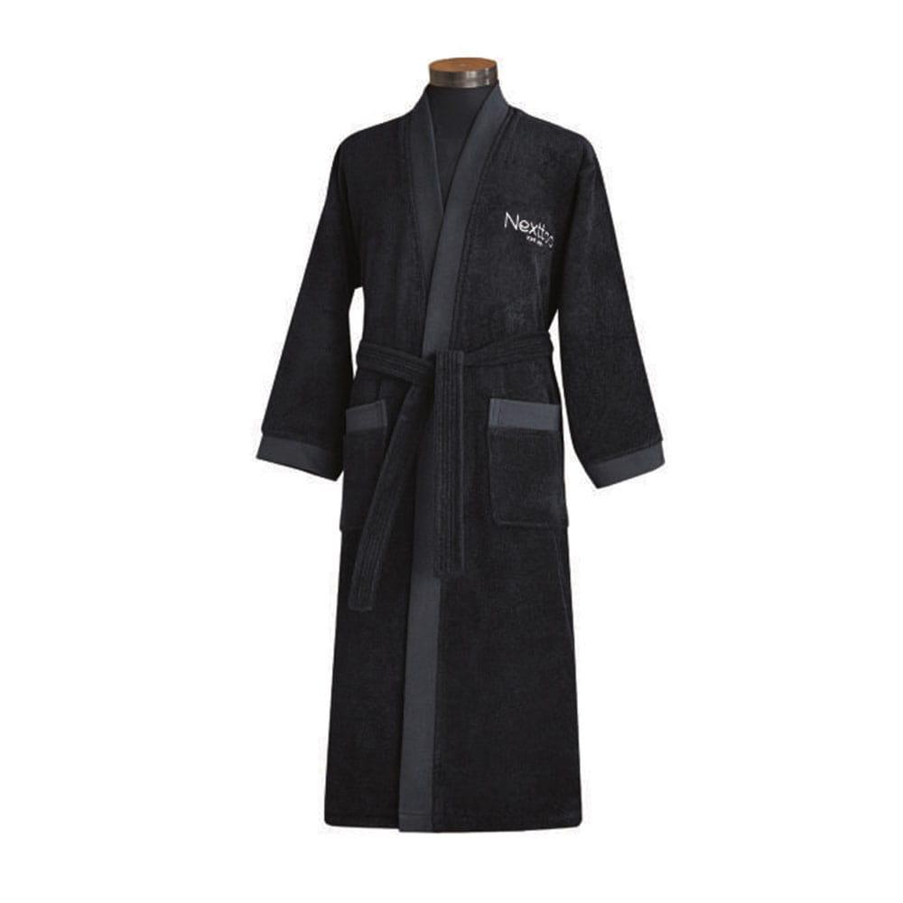 Μπουρνούζι 5003 Black Nexttoo XX-Large XXL