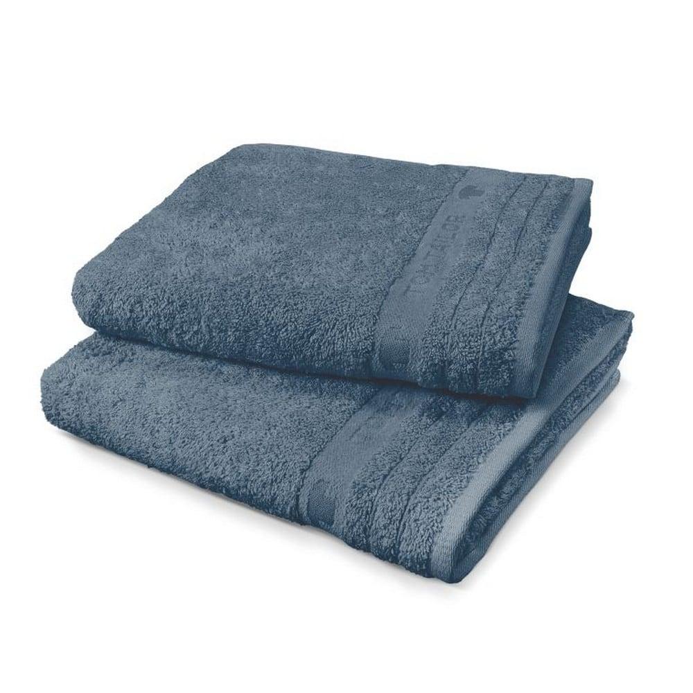 Πετσέτα Σώματος 100111 941 Jeans Blue Tom Tailor Σώματος 80x200cm