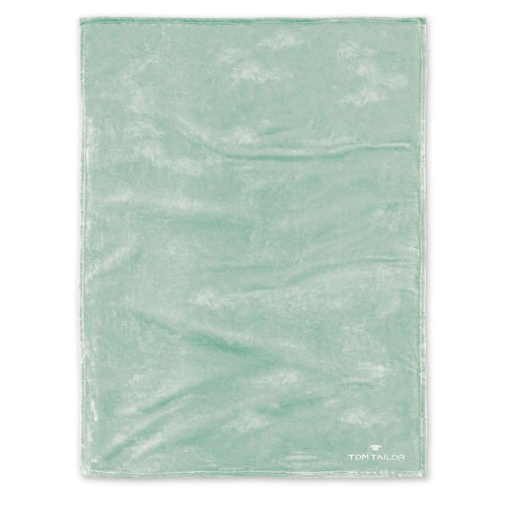 Κουβέρτα Fleece 237798 842 Mint Tom Tailor 150X200 180x220cm