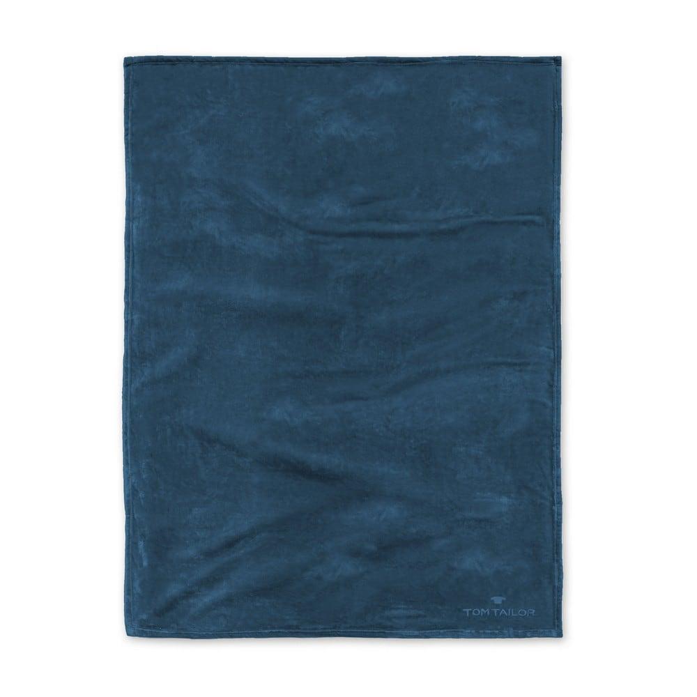 Κουβέρτα Fleece 237798 824 Petrol Tom Tailor 150X200 150x200cm