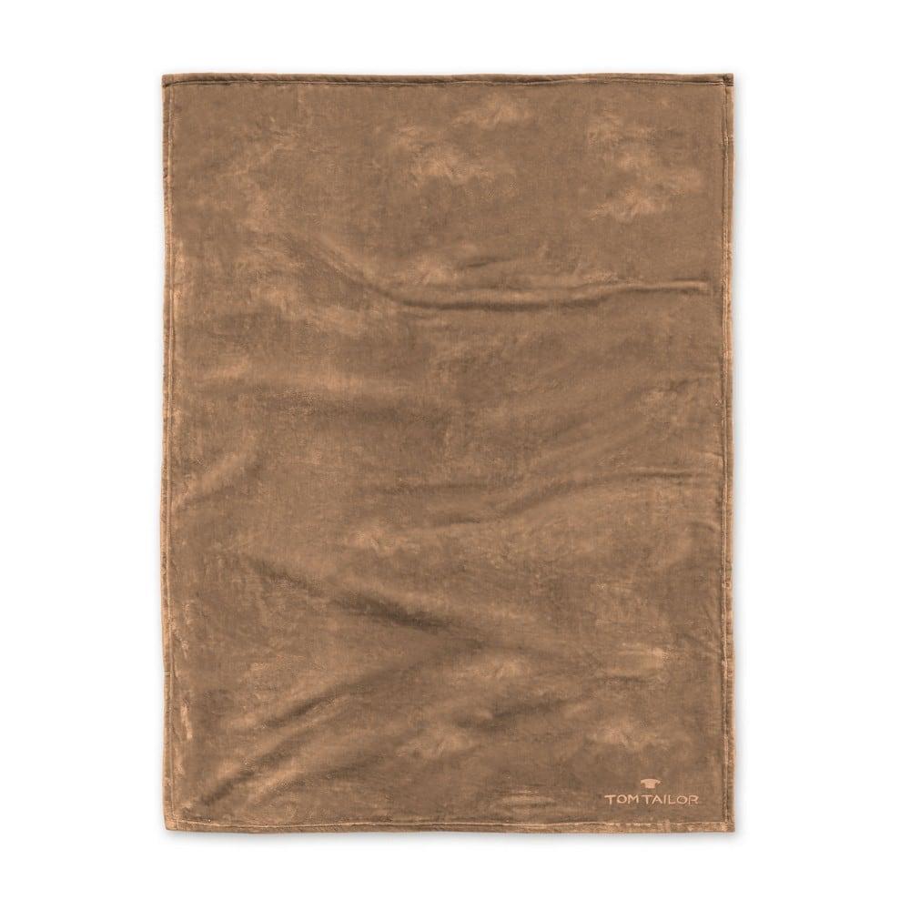 Κουβέρτα Fleece 237798 827 Caramel Tom Tailor 150X200 150x200cm
