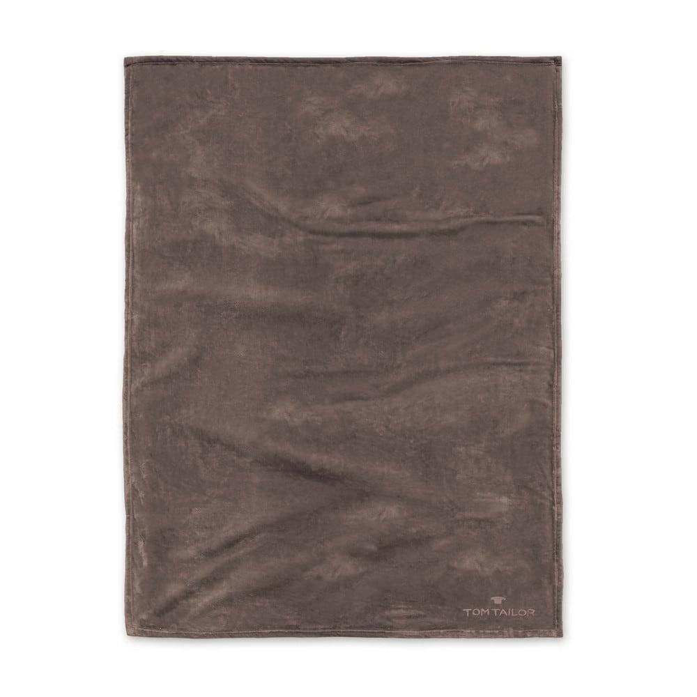 Κουβέρτα Fleece 237798 808 Choco Tom Tailor 150X200 180x220cm
