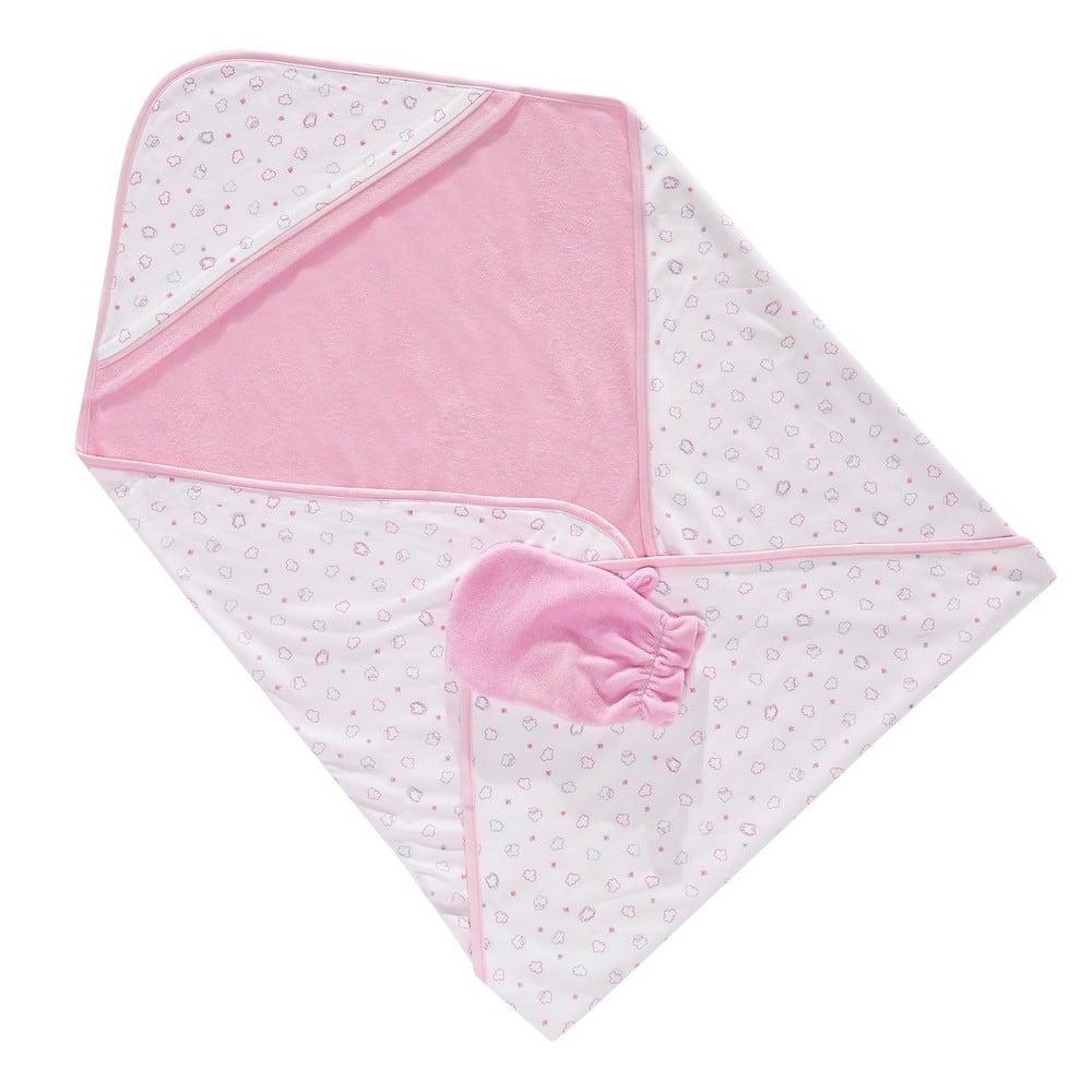 Κάπα & Γάντι Βρεφικά Flying Balloons 3062 Pink Sydney Baby 0-2 ετών One Size