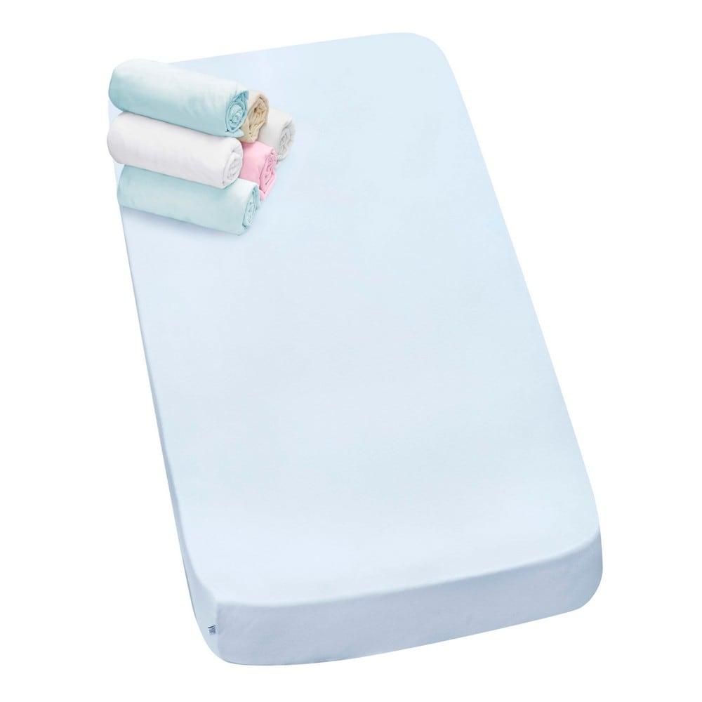 Κατωσέντονα Βρεφικά Λίκνου Σετ 2τμχ 3069 White -Blue Sydney Baby Λίκνου 70x140cm
