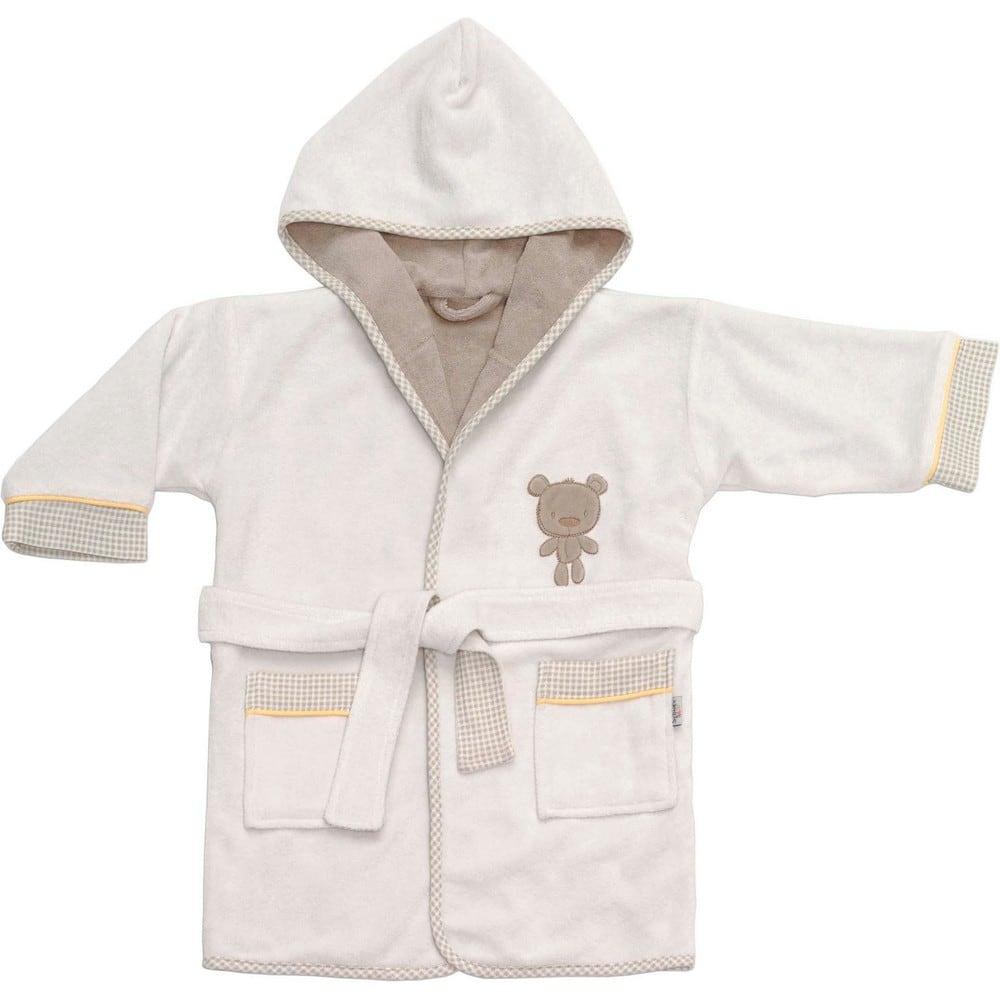 Μπουρνούζι Βρεφικό Little Bear 3064 Beige-White Sydney Baby 0-2 ετών No 2