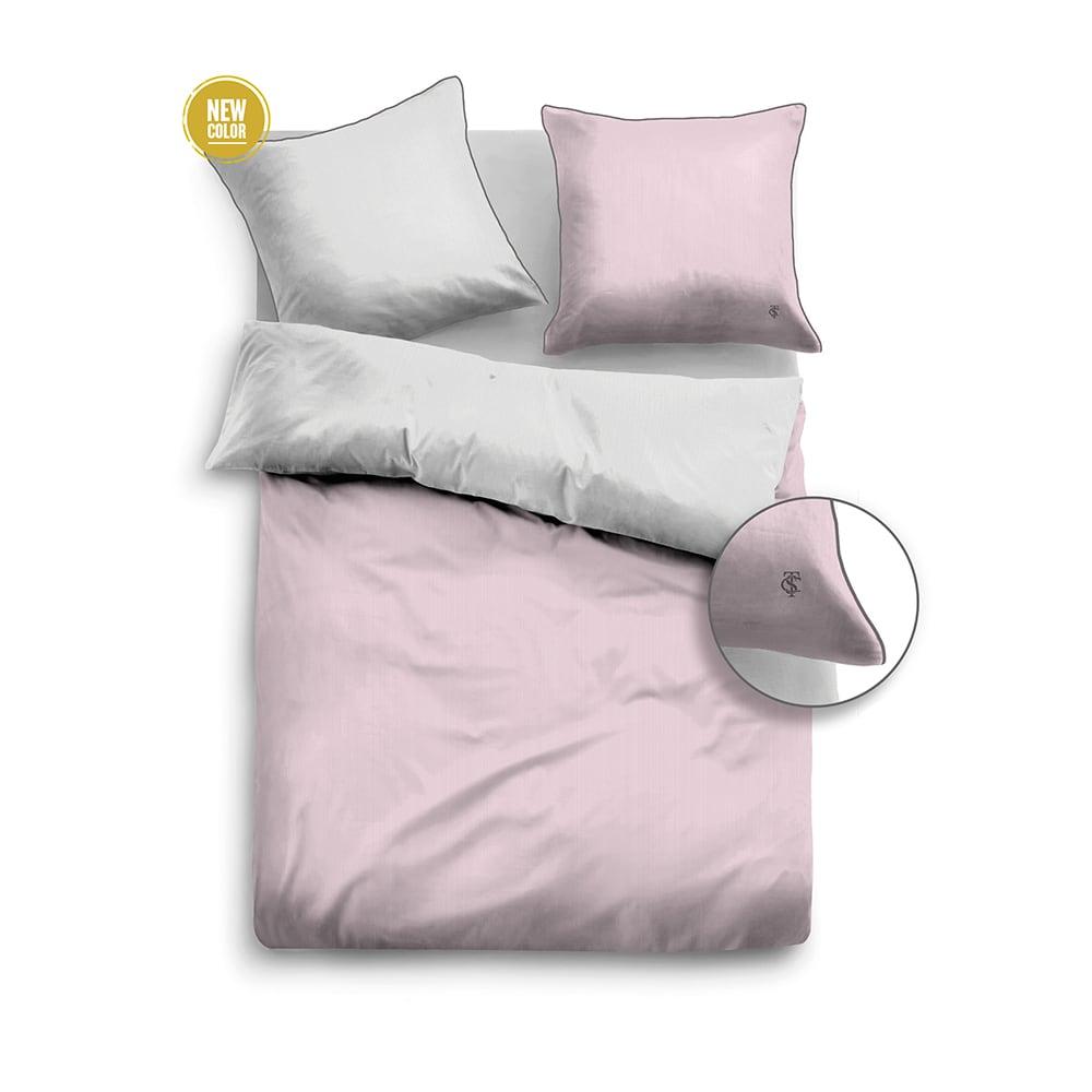 Σεντόνια Σετ 4Τεμ 69600 841 Grey-Pink Tom Tailor Υπέρδιπλo 240x260cm