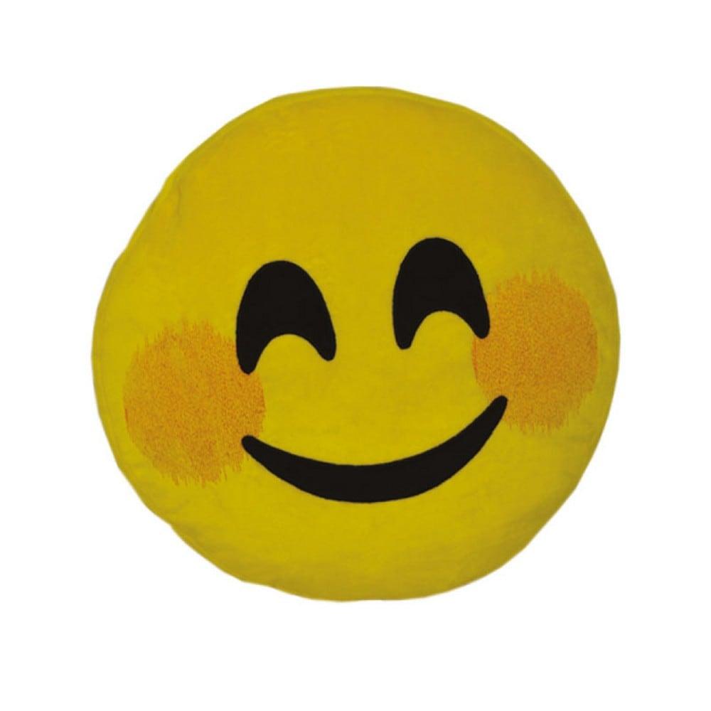 Μαξιλάρι Διακοσμητικό Παιδικό (Με Γέμιση) Εmoji Yellow Homeline 40Χ40