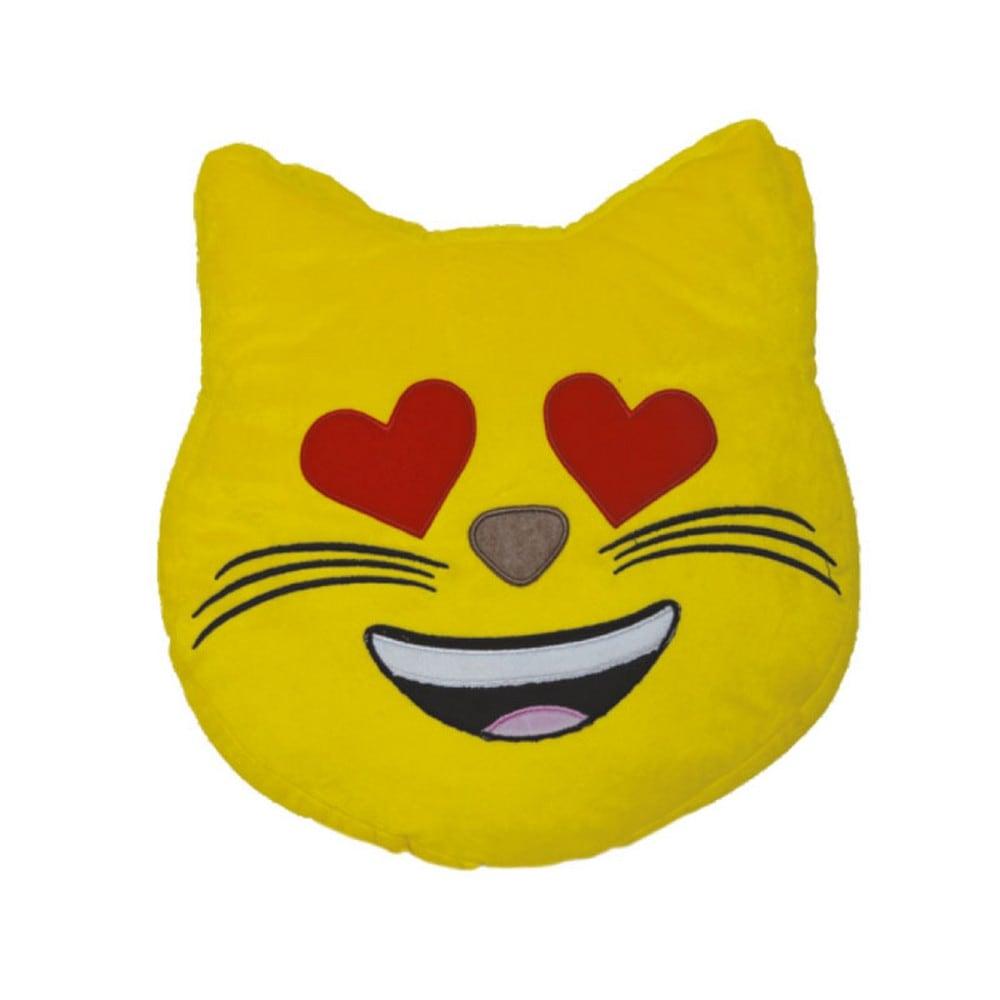 Μαξιλάρι Διακοσμητικό Παιδικό (Με Γέμιση) Εmoji 4 Yellow Homeline 40Χ40
