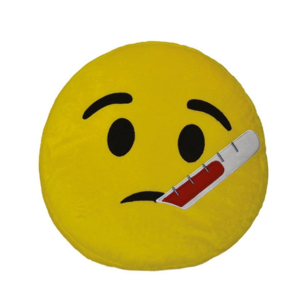 Μαξιλάρι Διακοσμητικό Παιδικό (Με Γέμιση) Εmoji 6 Yellow Homeline 40Χ40