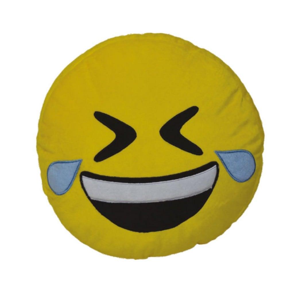 Μαξιλάρι Διακοσμητικό Παιδικό (Με Γέμιση) Εmoji 7 Yellow Homeline 40Χ40