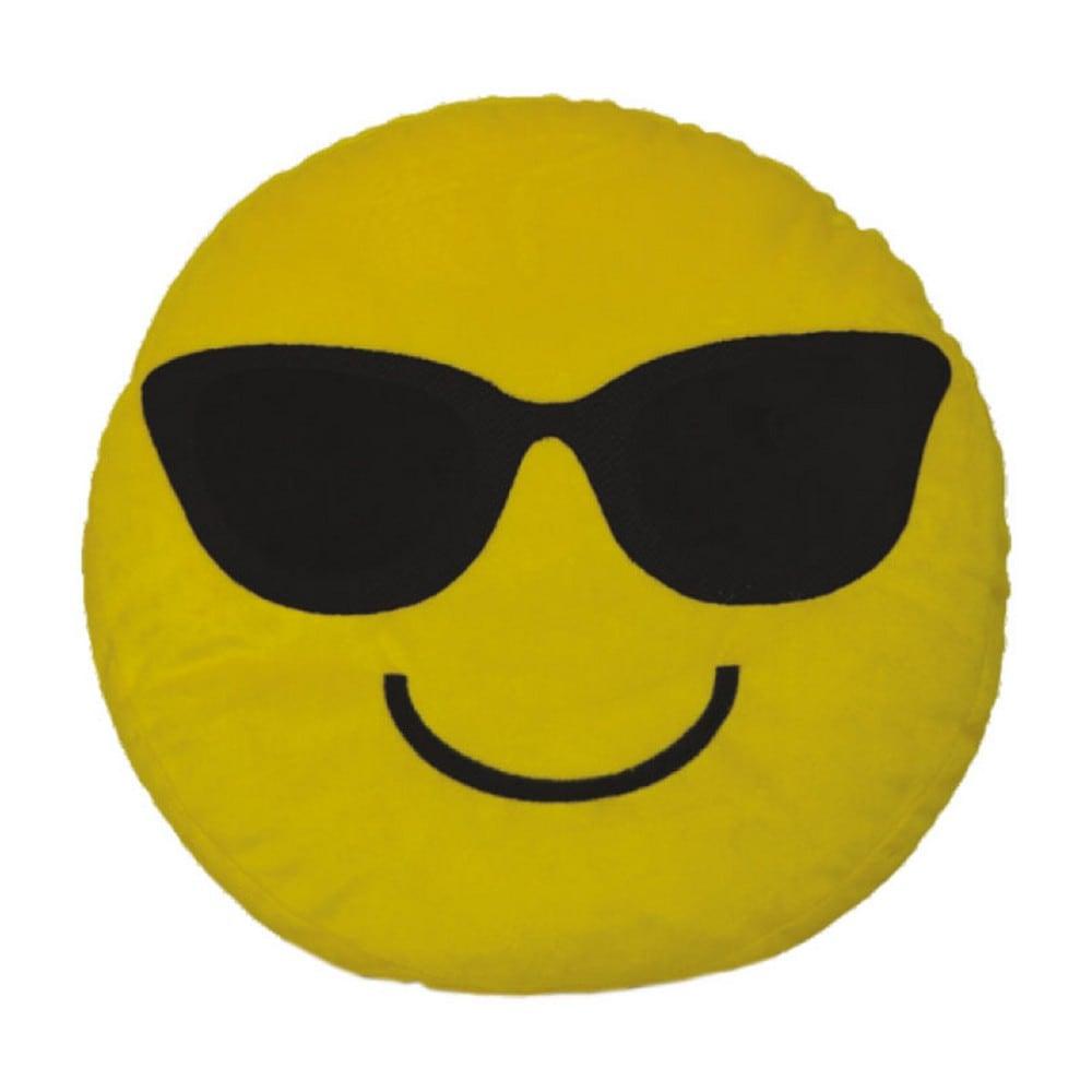 Μαξιλάρι Διακοσμητικό Παιδικό (Με Γέμιση) Εmoji 9 Yellow Homeline 40Χ40